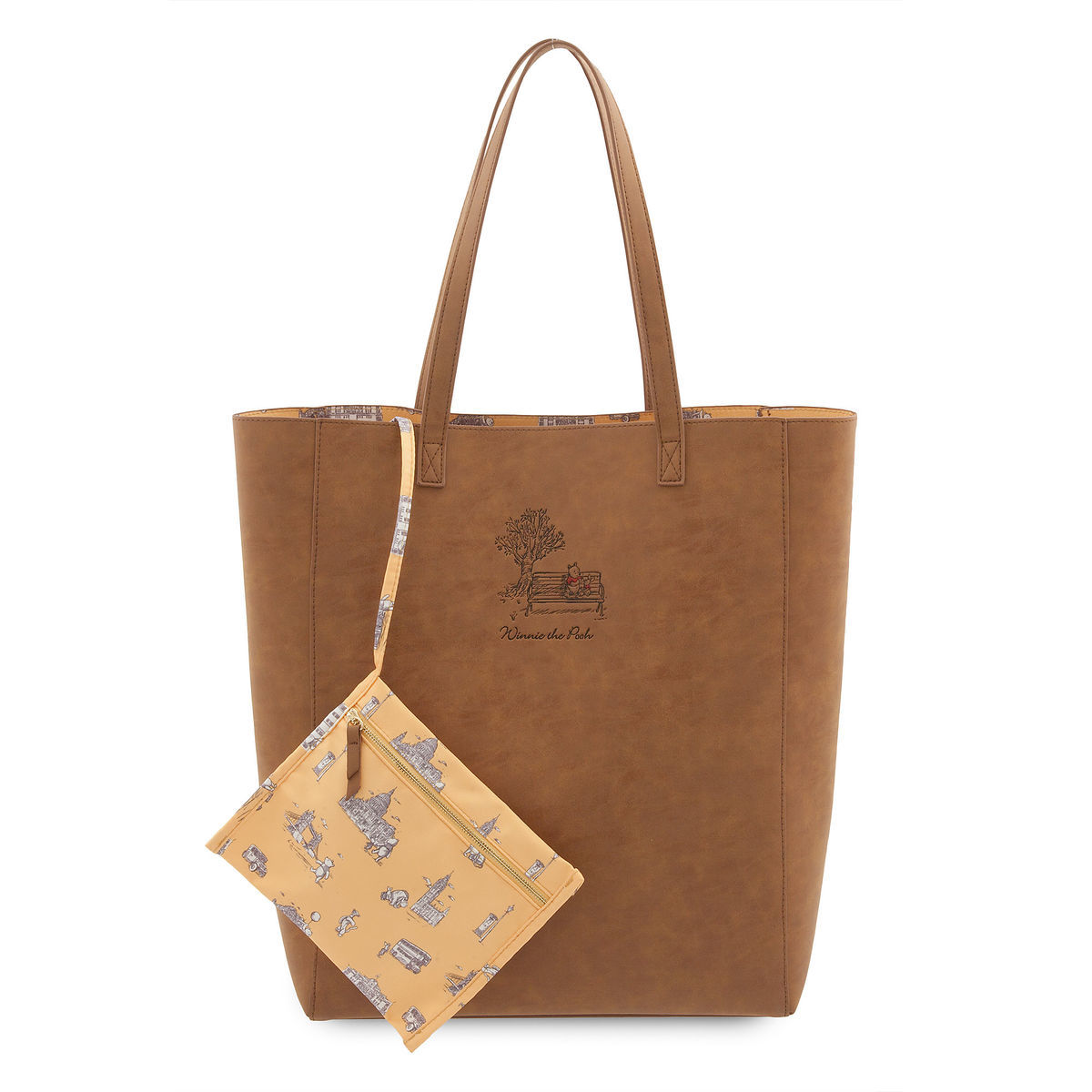 Product Image Of Winnie The Pooh Tote Bag Christopher Robin 1