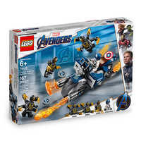 Image of Captain America Outriders Attack Play Set by LEGO - Marvel's Avengers: Endgame # 2
