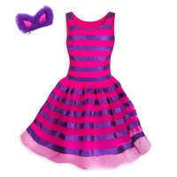 Image of Cheshire Cat Costume Tutu with Headband for Juniors # 2
