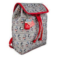 Image of Mickey and Minnie Mouse Americana Backpack by Harveys # 1