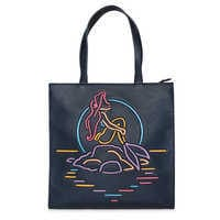 Image of The Little Mermaid Neon Tote by Danielle Nicole # 1