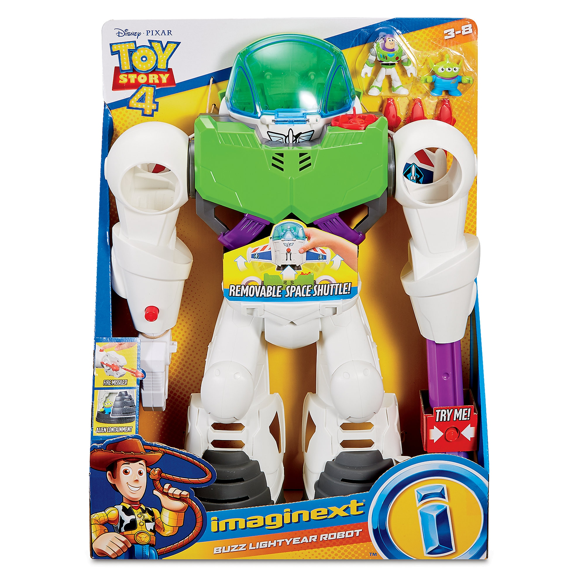 Buzz Lightyear Robot – Toy Story 4 is now out