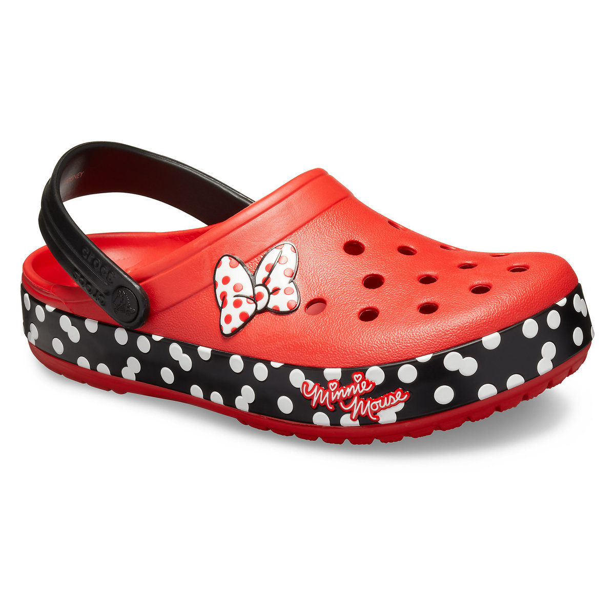 13496840d Product Image of Minnie Mouse Crocband Clogs for Women by Crocs   1