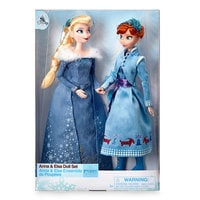 Anna and Elsa Classic Doll Set - Olaf's Frozen Adventure - 11 1/2''
