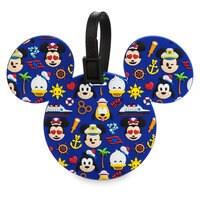 Mickey Mouse Icon Emoji Luggage Tag - Disney Cruise Line