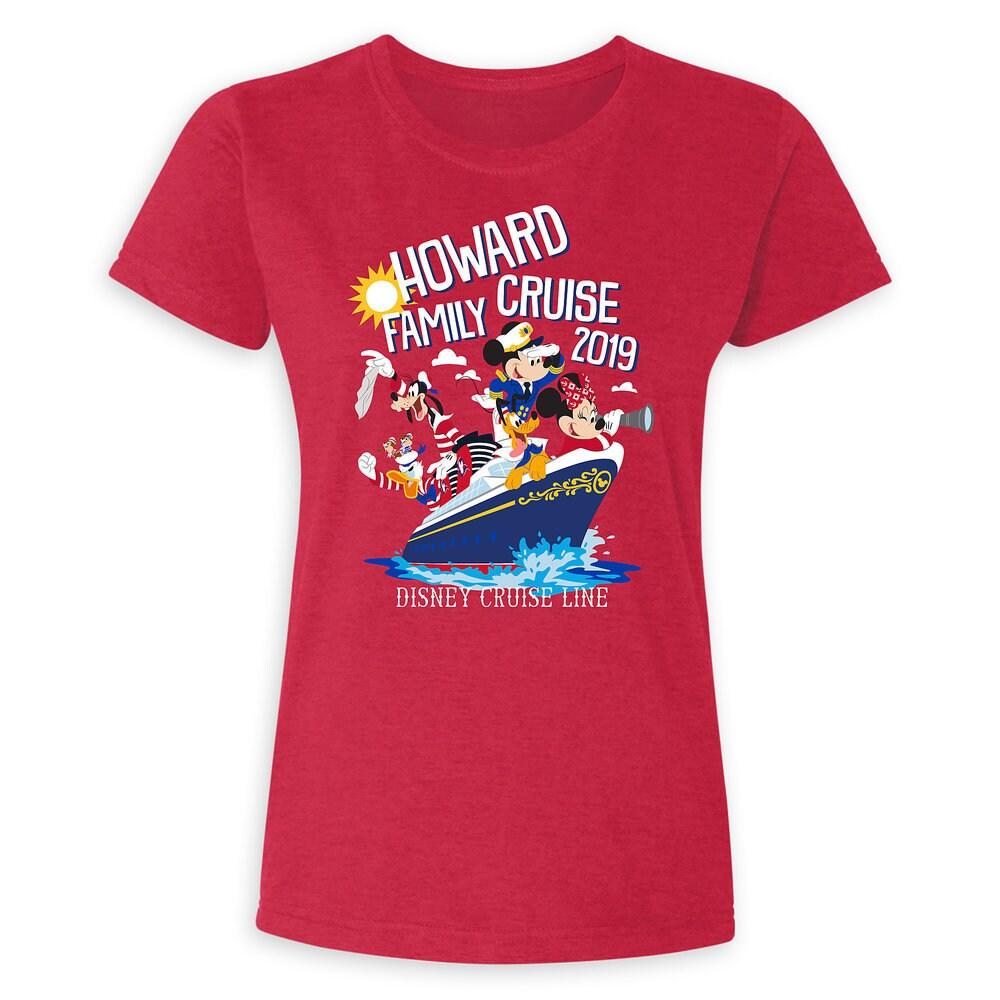 Women's Disney Cruise Line Family Cruise 2019 T-Shirt - Customized