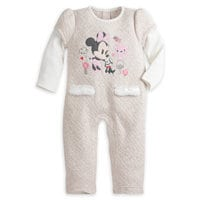 Minnie Mouse Quilted Romper - Baby