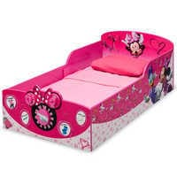 Image of Minnie Mouse Interactive Wooden Toddler Bed # 3