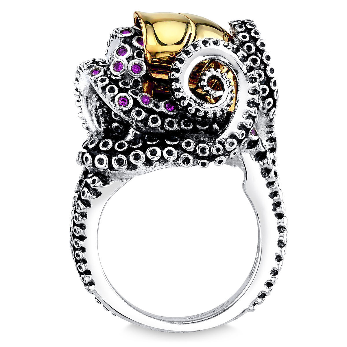 Product Image Of Ursula Ring By Rocklove The Little Mermaid 2