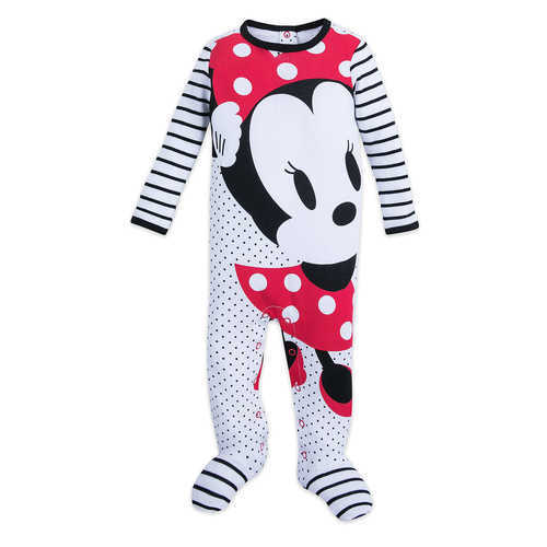 Disney Minnie Mouse Stretchie Sleeper for Baby