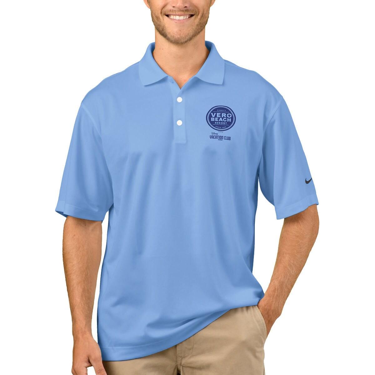 Product Image Of Disney Vacation Club Vero Beach Resort Nike Polo Shirt For Men Customizable