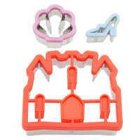 Image of Disney Princess Food Cutter Set - Disney Eats # 1