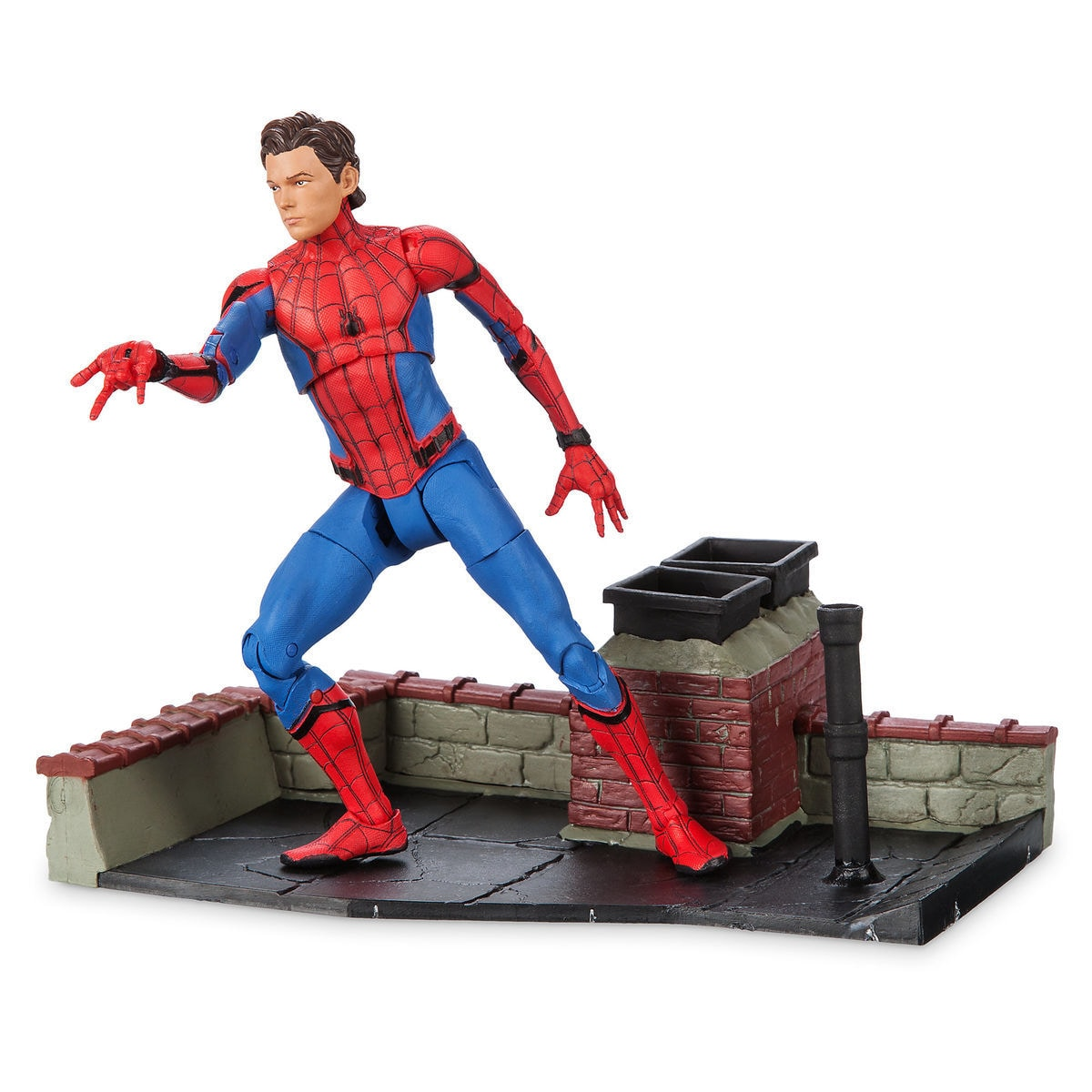 Spider Man Action Figure Marvel Select Spider Man Homecoming