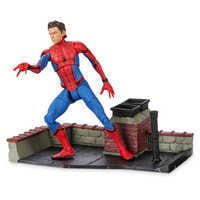 Image of Spider-Man Action Figure - Marvel Select - Spider-Man: Homecoming - 7'' # 1