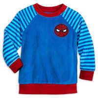 Image of Spider-Man Fuzzy Pajama Set for Kids # 2