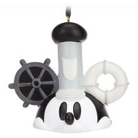 Mickey Mouse Ear Hat Ornament - Steamboat Willie