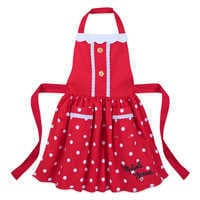 Image of Minnie Mouse Signature Apron and Chef's Hat Set for Kids - Personalizable # 2