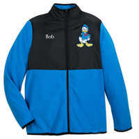 Image of Donald Duck Pieced Fleece Jacket for Adults - Personalizable # 1
