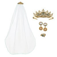 Image of Ariel Deluxe Wedding Costume Accessory Set - Disney Designer Collection # 1