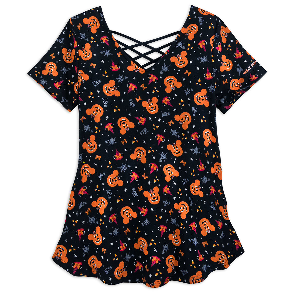 Product Image of Mickey and Minnie Mouse Halloween T-Shirt for Women - Walt  Disney 7bd436e7f
