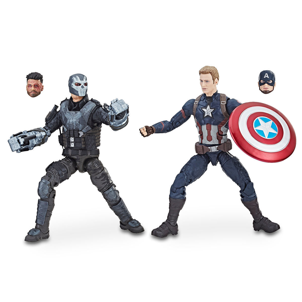Product Image of Captain America and Crossbones Action Figures - Legends  Series - Marvel Studios 10th