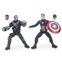 Image of Captain America and Crossbones Action Figures - Legends Series - Marvel Studios 10th Anniversary # 1