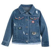 Image of Pocahontas Denim Jacket for Girls # 4