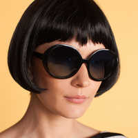 Image of Edna Mode Sunglasses by Trina Turk - Incredibles 2 # 2