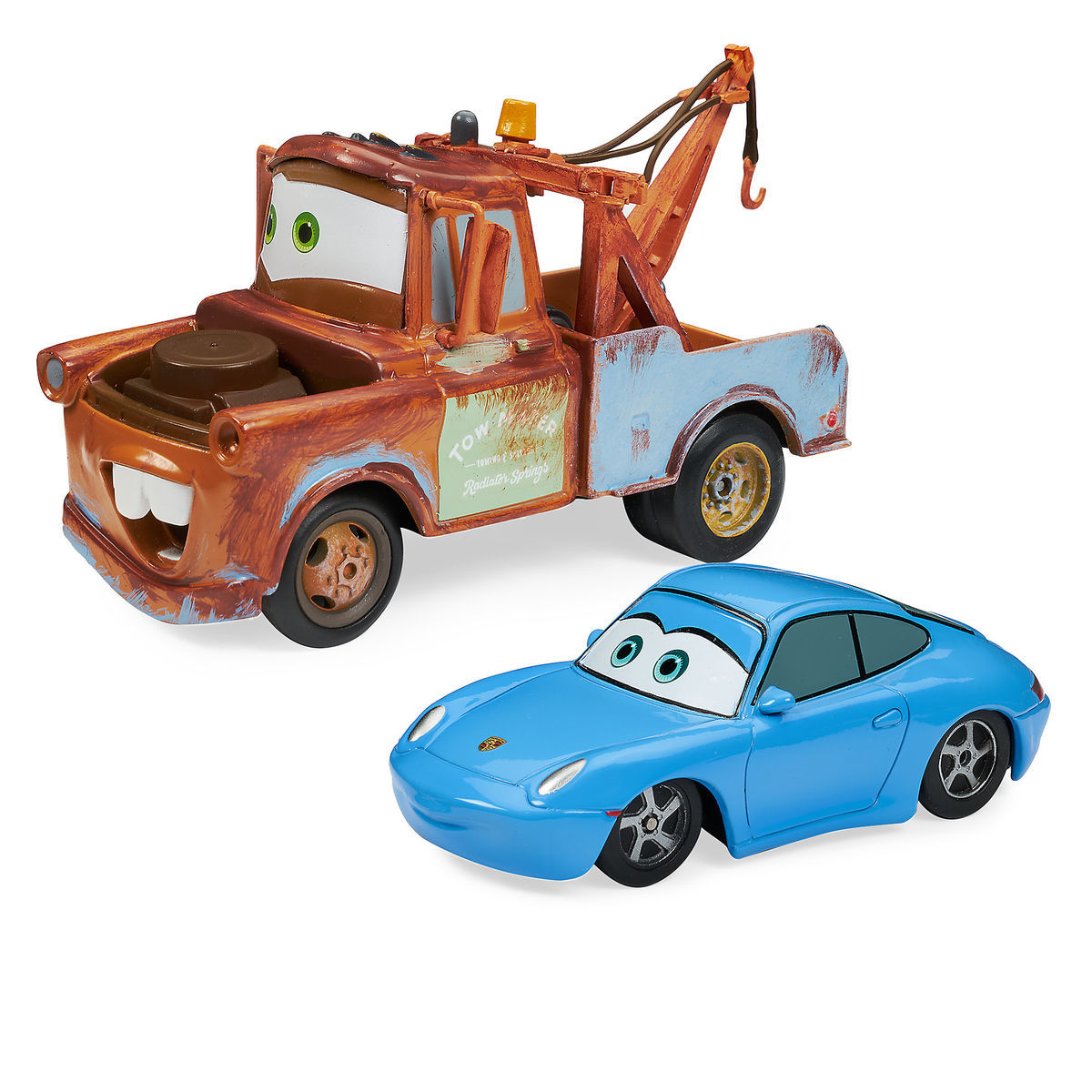 mater sally pull n race die cast set cars shopdisney