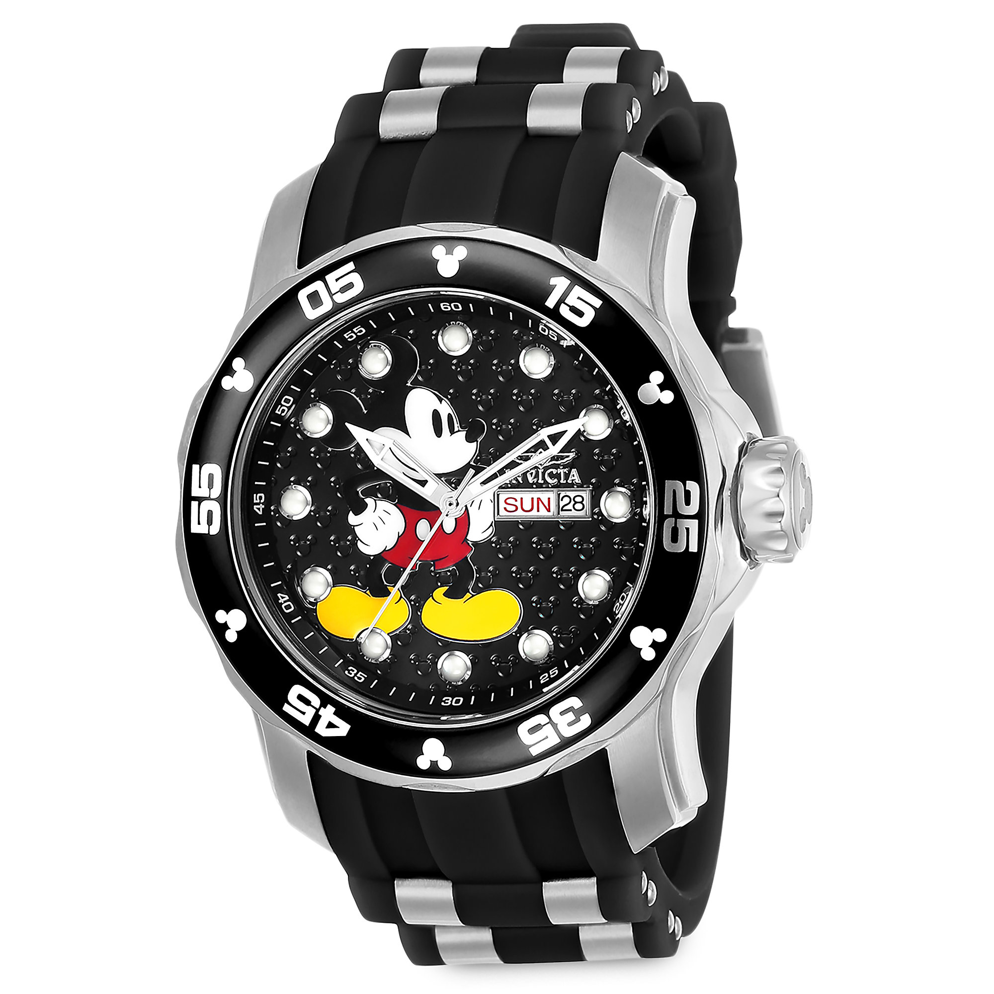 Mickey Mouse Watch for Men by INVICTA - Limited Edition