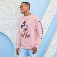 Image of Mickey Mouse Sweatshirt for Adults - Disneyland - Briar Rose Gold # 2