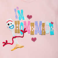 Image of Forky T-Shirt for Girls - Toy Story 4 # 4