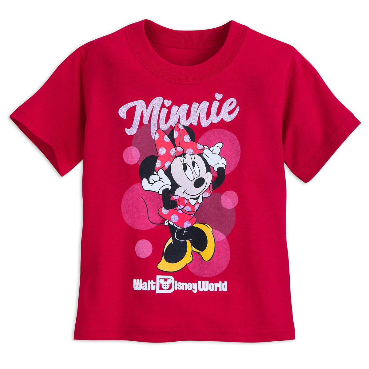 18dfbc0dcef4 Product Image of Minnie Mouse Glitter T-Shirt for Girls - Walt Disney World  #