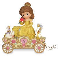 Image of Belle ''A Beauty to Behold at Five Years Old'' Fifth Birthday Figurine by Precious Moments # 1