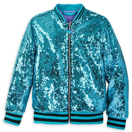 Jasmine Sequined Bomber Jacket For Girls Aladdin