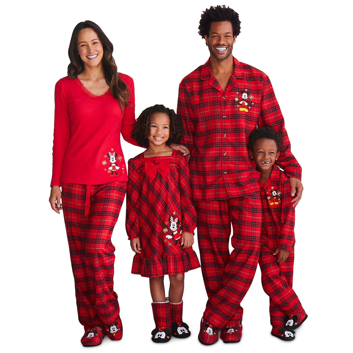 4256461da673 Mickey and Minnie Mouse Holiday Sleepwear for Family