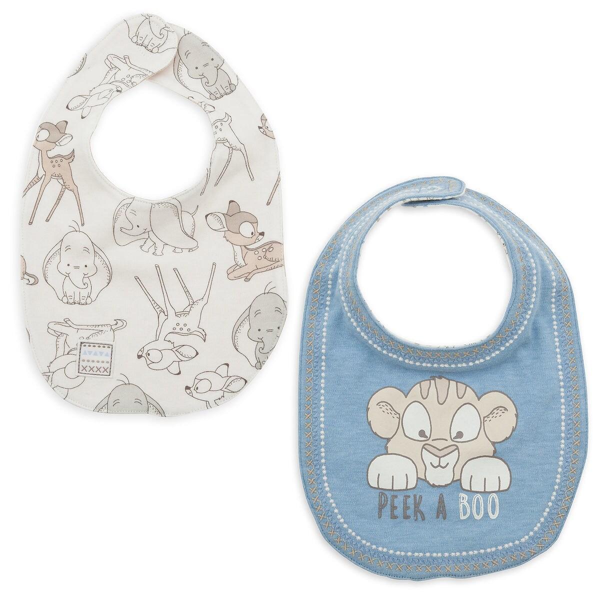Product Image of Disney Classics Reversible Bib Set for Baby # 1