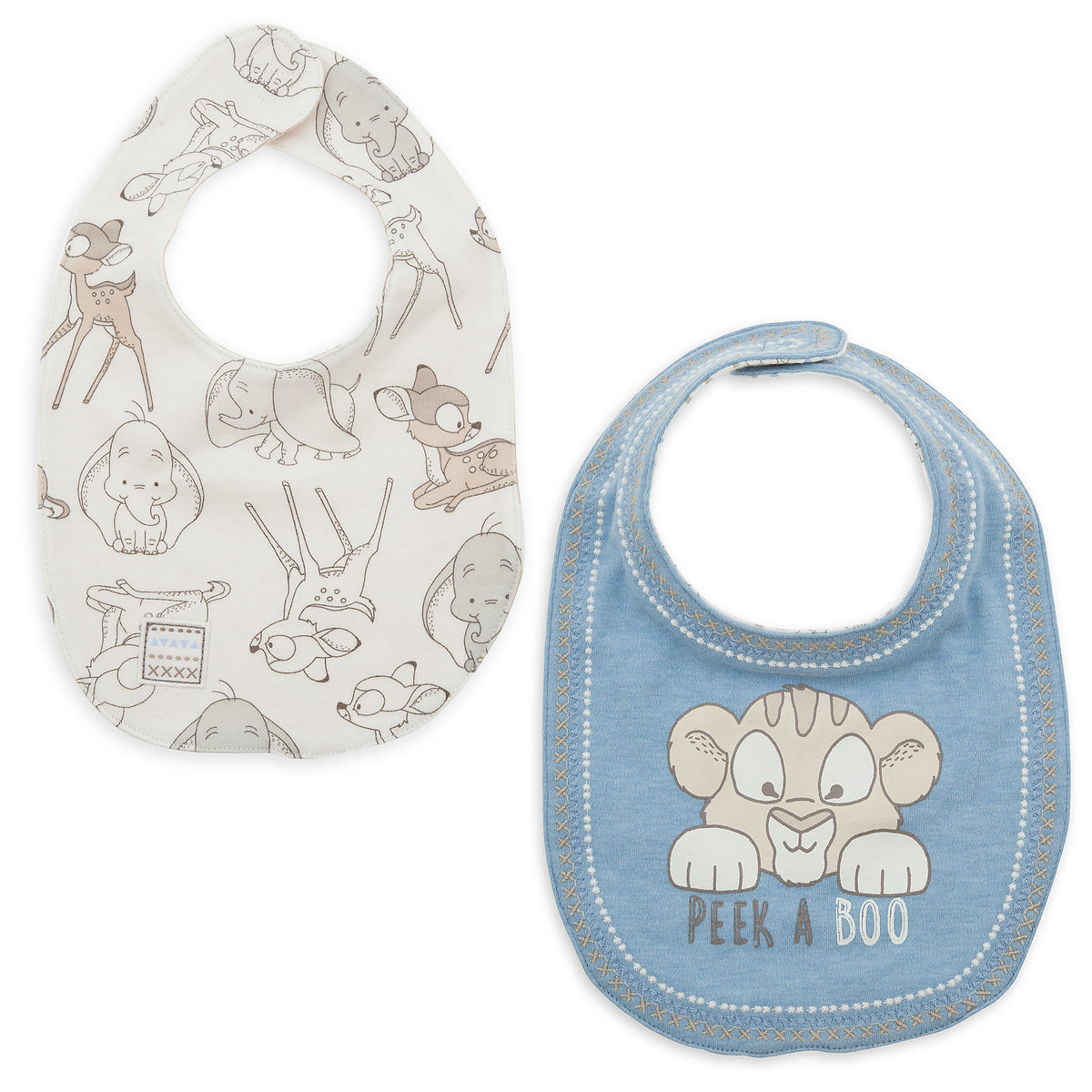 Product Image of Disney Classics Reversible Bib Set for Baby # 1