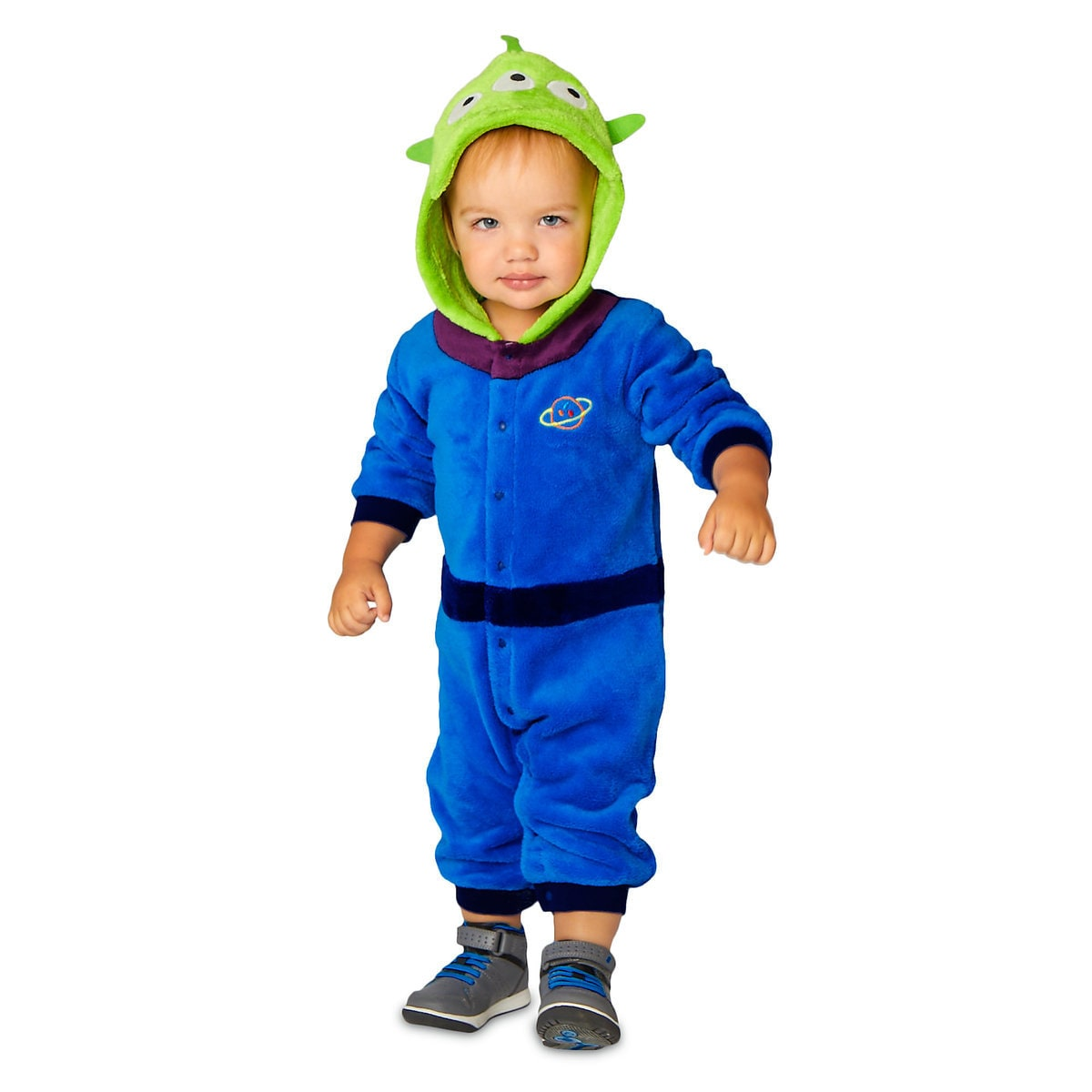 7939f2809 Product Image of Toy Story Alien Fleece Costume Romper for Baby # 1