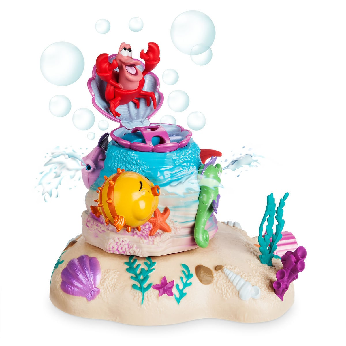 Product Image of Sebastian Bubbles and Splash Sprinkler Play Set - The Little Mermaid # 1
