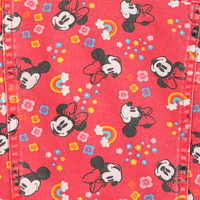 Image of Minnie Mouse Hooded Denim Jacket for Girls # 6