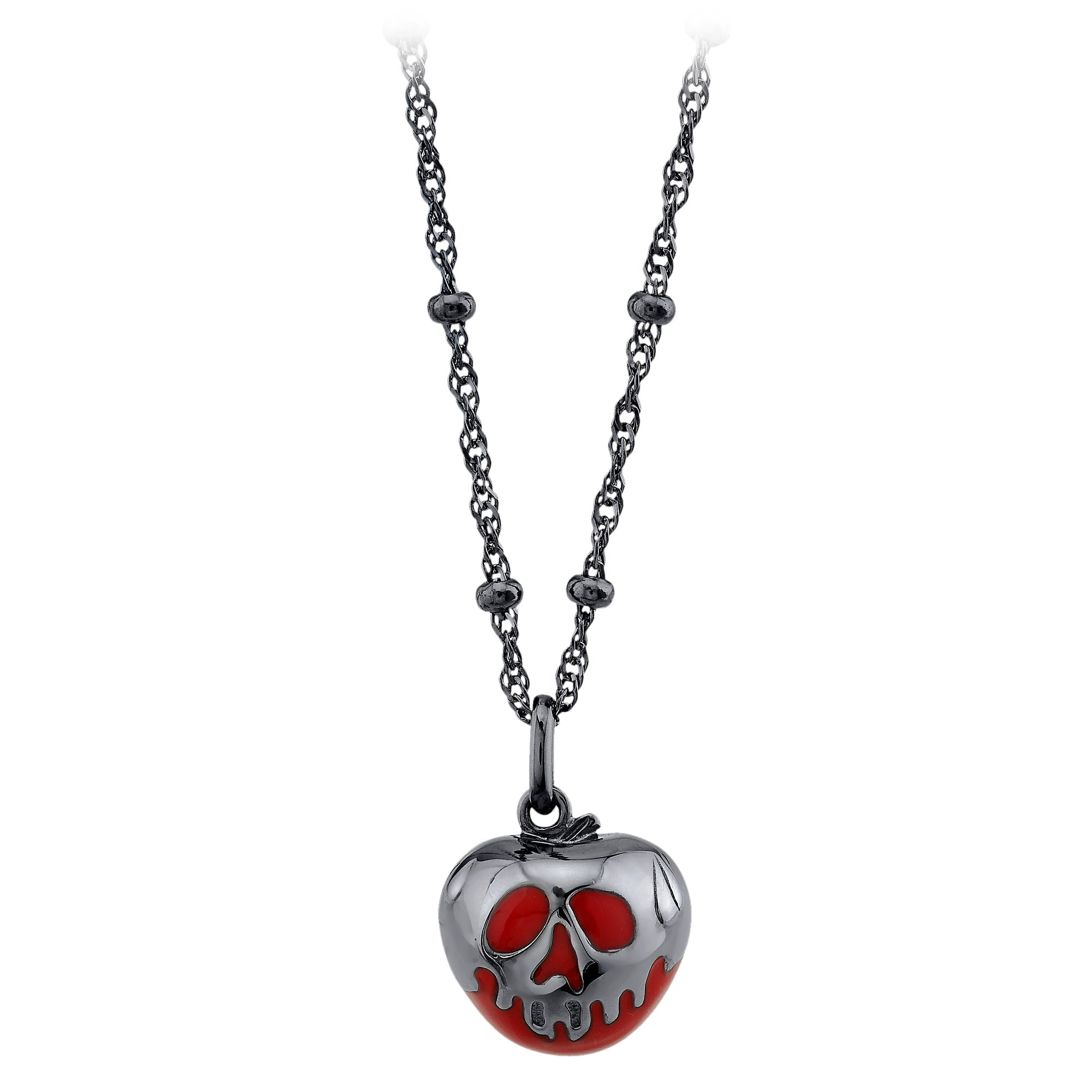 Poisoned Apple Necklace by RockLove - Snow White and the Seven Dwarfs