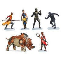 Image of Black Panther Figure Playset # 1