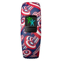 Image of Captain America Garmin vivofit jr. 2 Activity Tracker for Kids with Adjustable Band # 5