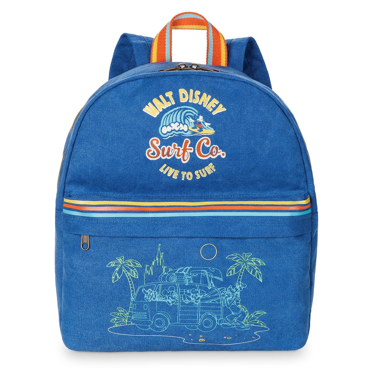 59846f8fcda Product Image of Mickey Mouse and Friends Surf Backpack for Kids   1