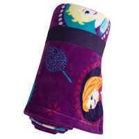 Image of Frozen Fleece Throw - Personalizable # 2