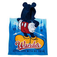 Image of Mickey Mouse Hooded Towel for Kids # 2