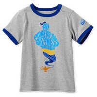 Image of Genie Ringer T-Shirt for Boys - Aladdin - Live Action Film # 1