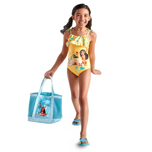 Moana Swimwear Collection for Girls - One-Piece Suit