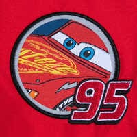 Image of Lightning McQueen Varsity Jacket for Boys - Personalizable # 3